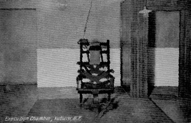 Edison the executioner faithful readers for Sedia elettrica edison