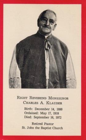 Charles z klauder dissertation