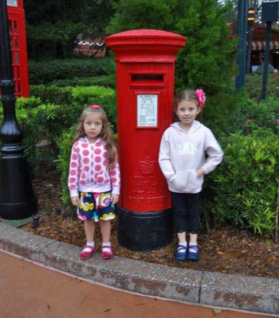 Girls Mailbox