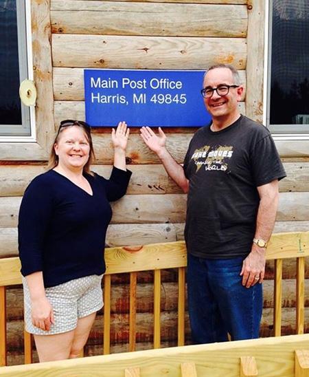 PO Harris MI with Harris