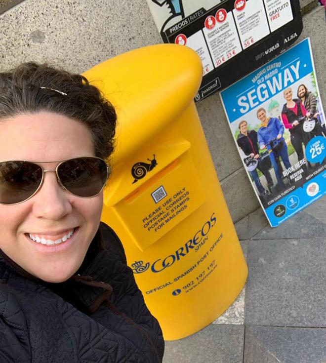 PO Katie Bang in Spain