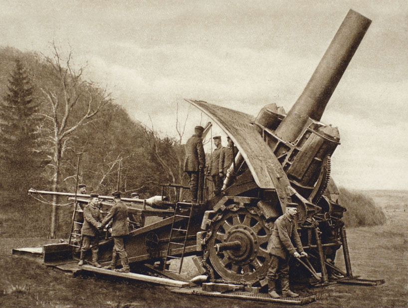 German 420mm Gun