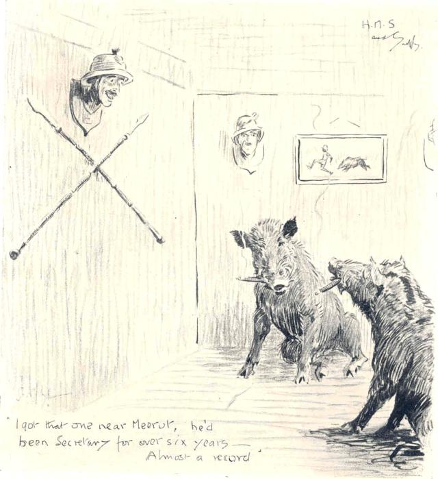 Hog Hunters Annual Cartoon