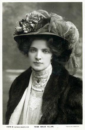 Maud Allan Postcard