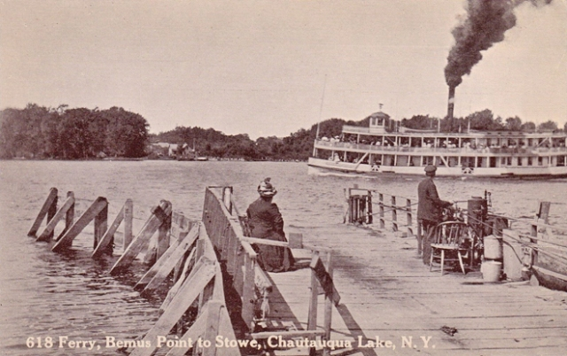 Stow Ferry and Steamer