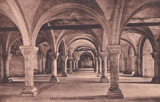 Crypt Canterbury
