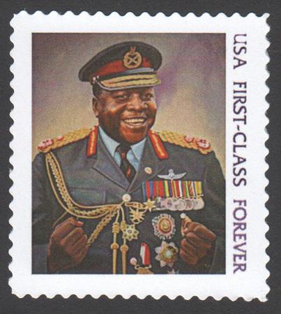 Idi Amin Stamp