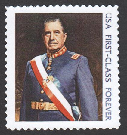 Pinochet Stamp
