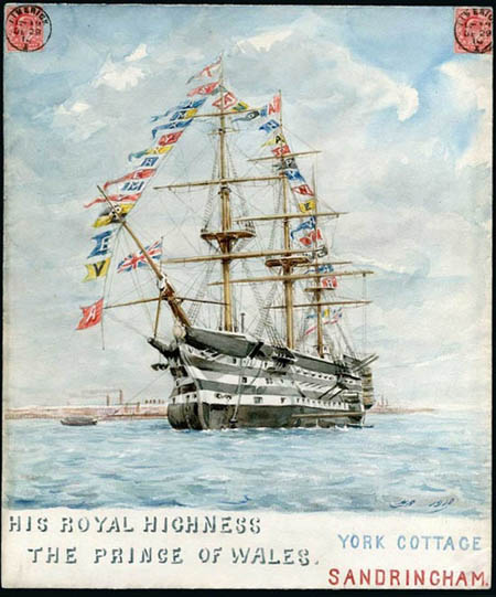 Hugh Rose Flags 1910