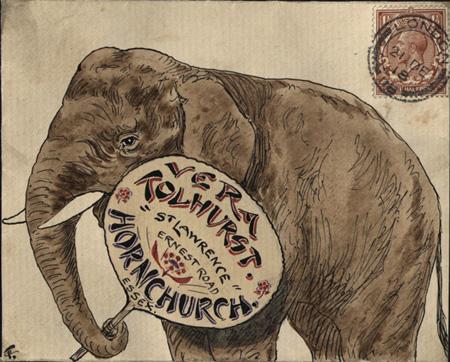 Tolhurst Elephant 1918