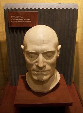 Deeming Death Mask at Gaol